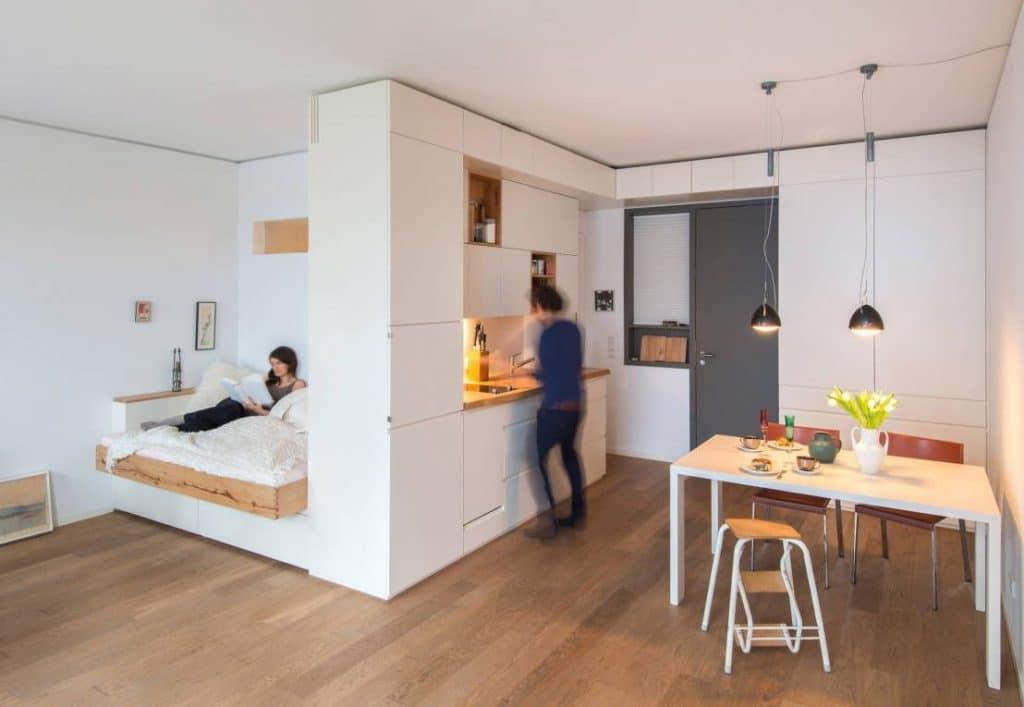 hvordan indretter man et lille værelse