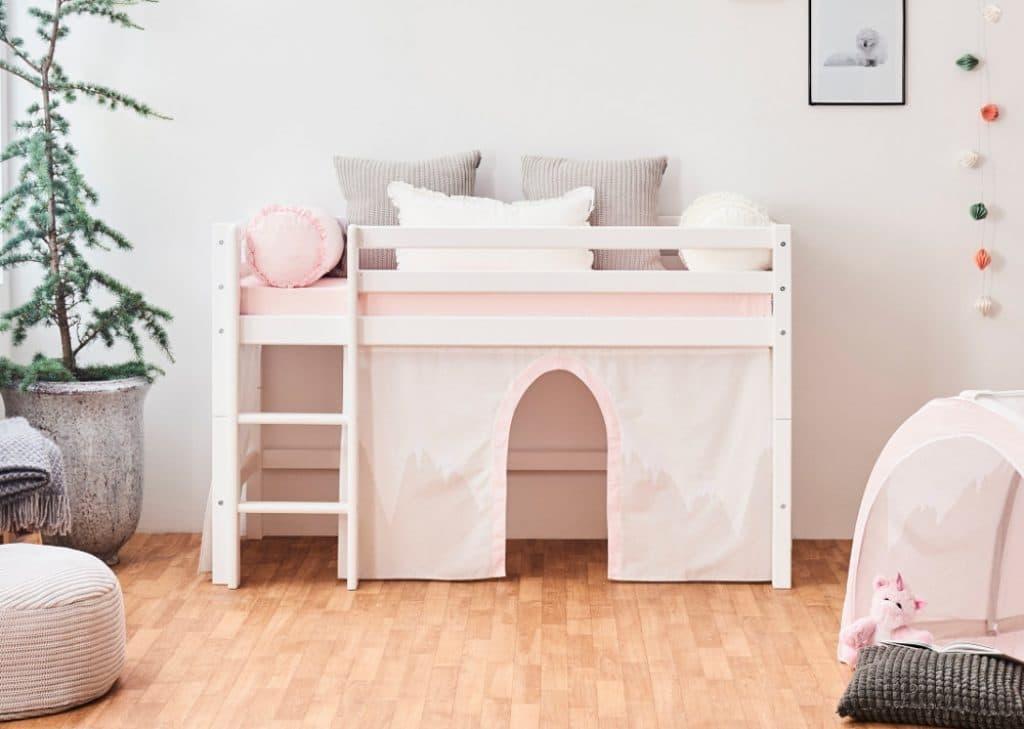 Hoppekids Basic halvhøj seng